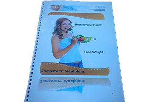 Jumpstart Menuplan Booklet