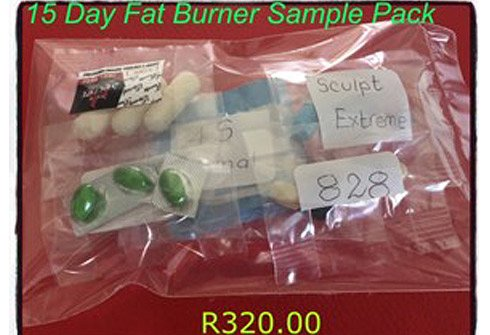 15 Day Fat Burner Sample Pack