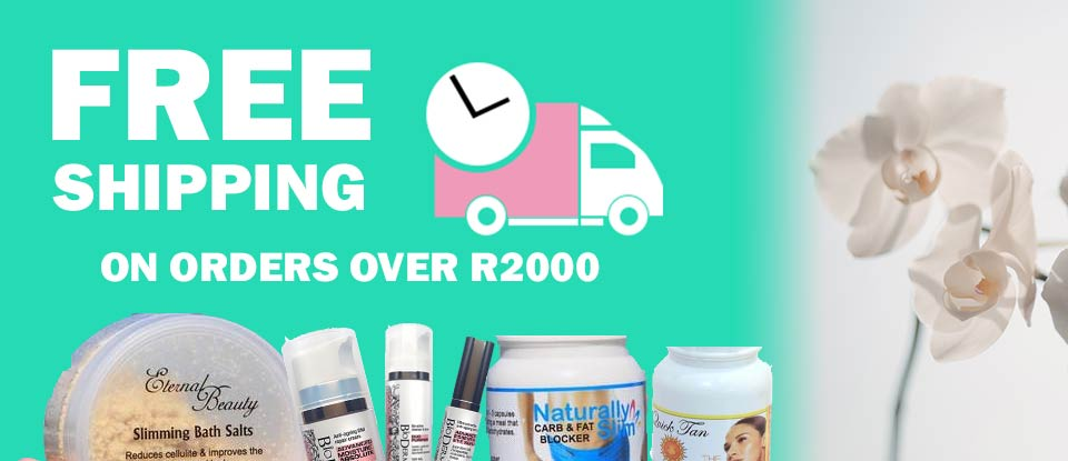 Free shipping on orders over R2000