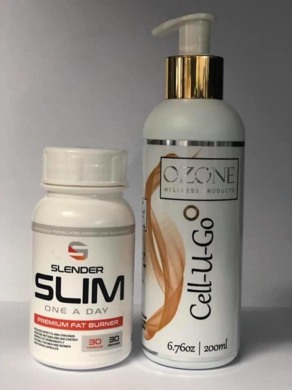 Slender Slim + Cell-u-go combo pack