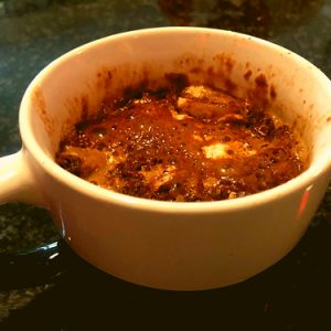 YUMMY Caramel & Banana Mug Cake