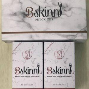 2 x Bskinni Caps + 1 free Bskinnie detox tea